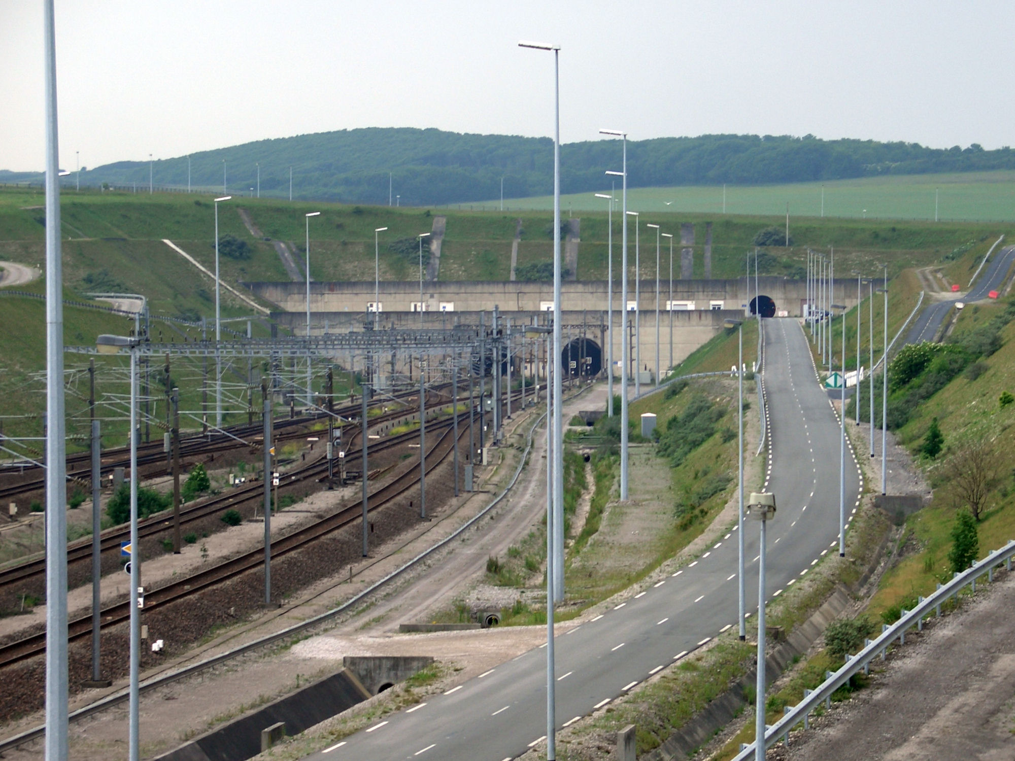 Coquelles France  city photo : Eurotunnel Coquelles 2008 Wikipedia, the free encyclopedia