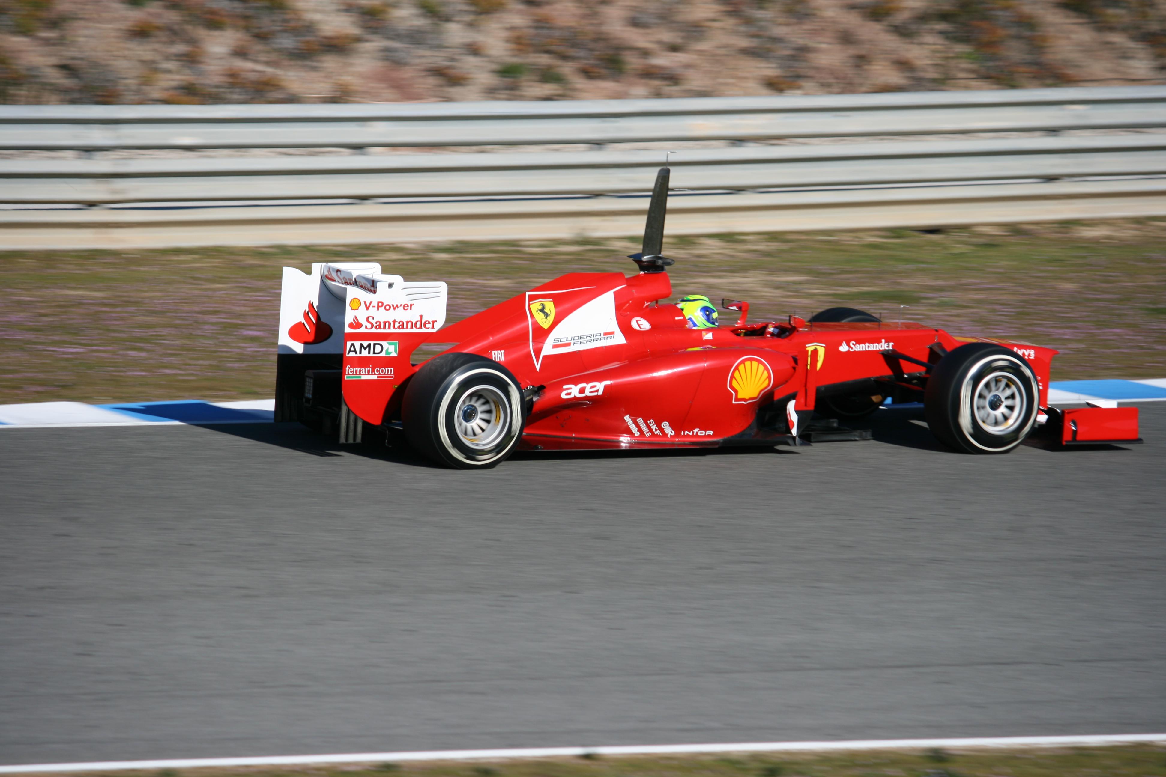 File F1 2012 Jerez Test Ferrari Jpg Wikimedia Commons