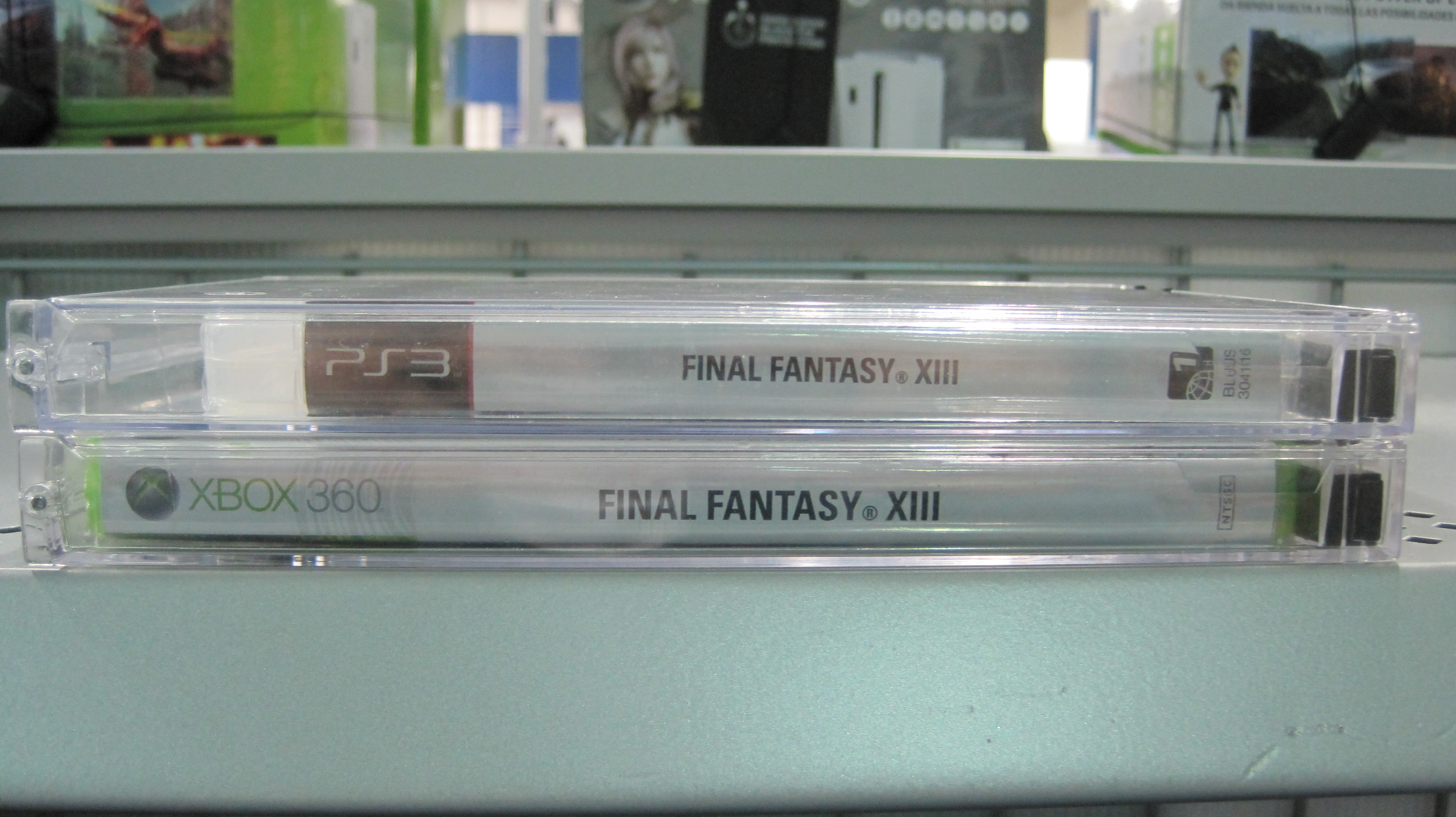 File:FF XIII PS 3 & Xbox 360 versions at Best Buy no  1896
