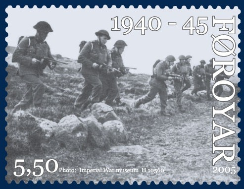 Datei:Faroe stamp 535 world war 2.jpg