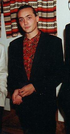 Vicente Amigo en la entrega de la Fiambrera de Plata 1992 del Ateneo de Córdoba.