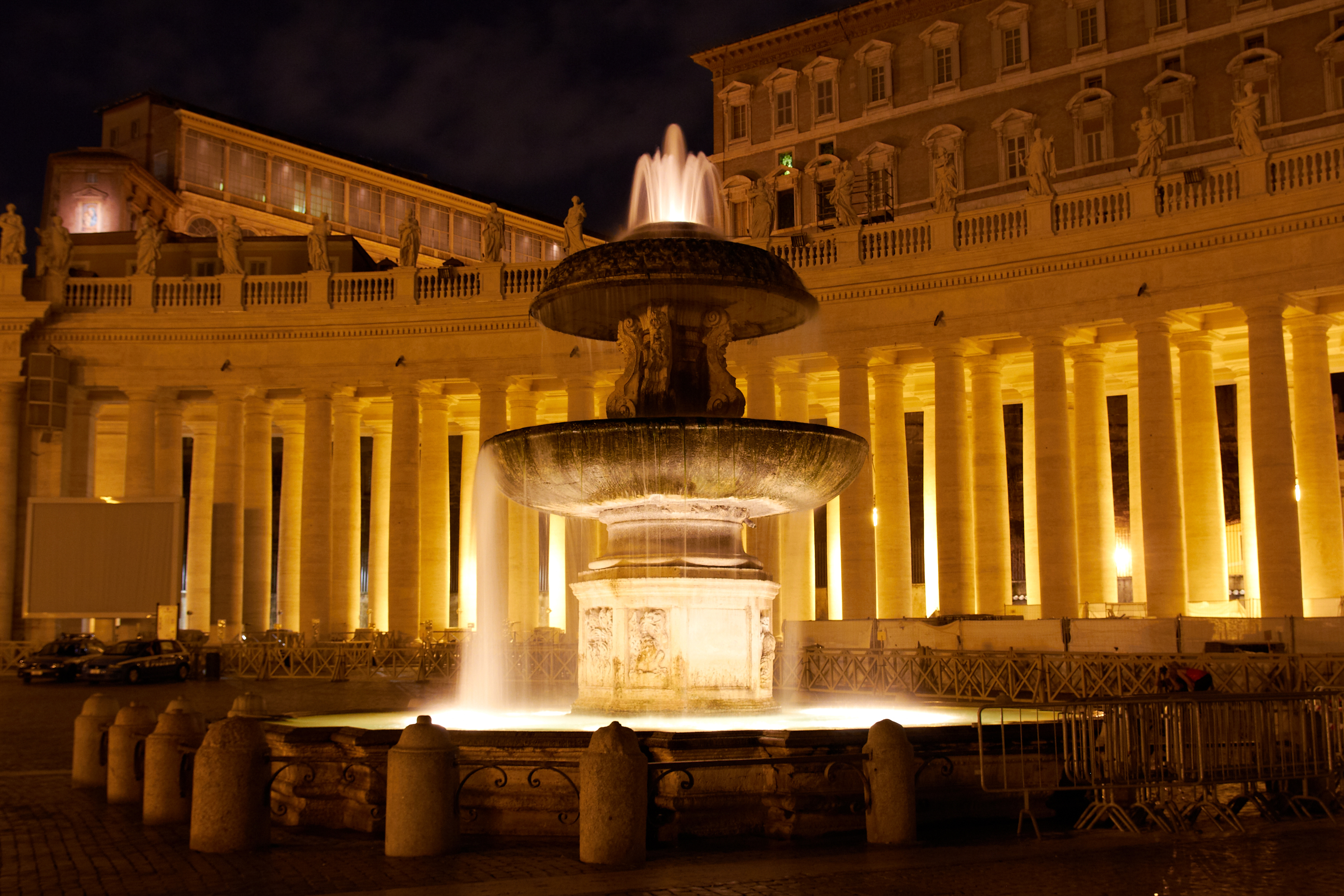 List of fountains in Rome
