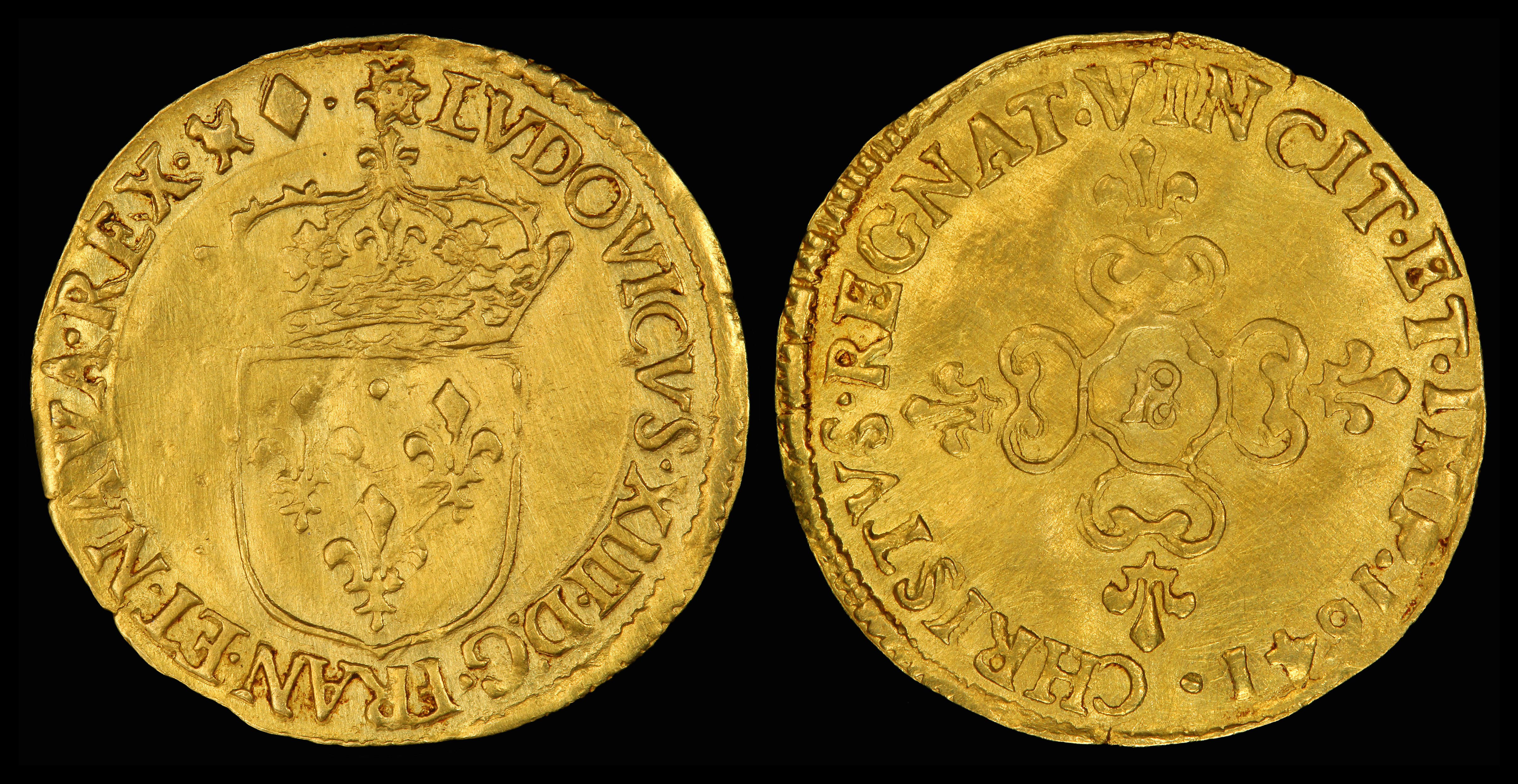 File:France 1641 Ecu d'Or (Louis13).jpg