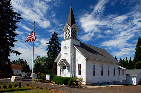 Franklin Church (Lane County, Oregon scenic images) (lanDA0044)