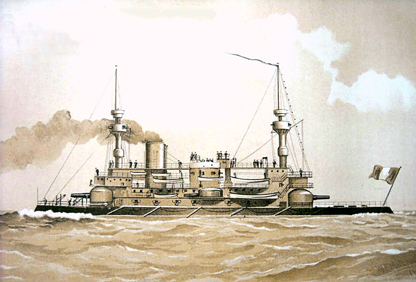French ironclad Hoche - Wikiwand