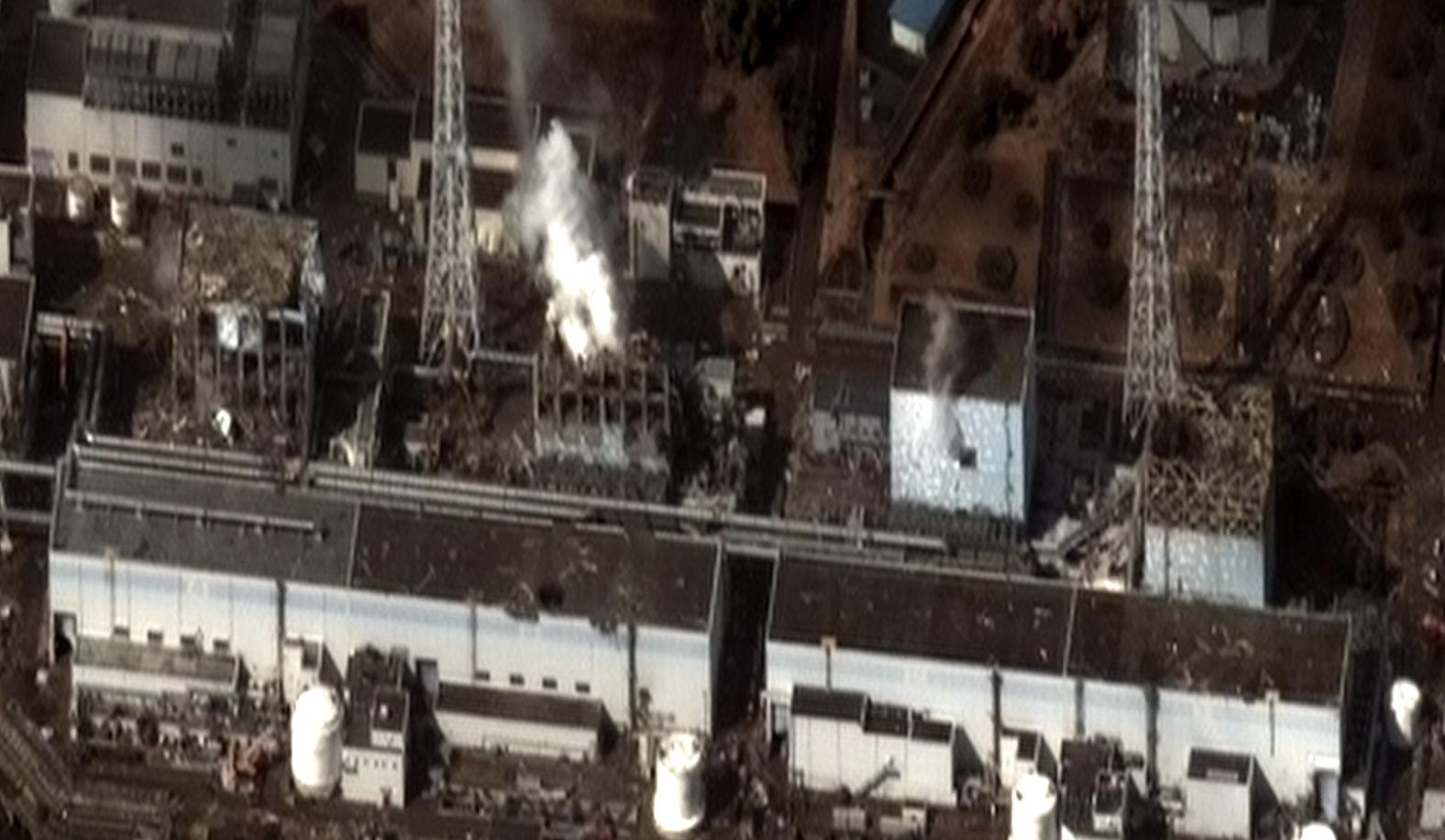 Depiction of Accidente nuclear de Fukushima I