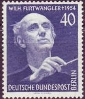 Wilhelm Furtwängler (timbre Berlin-Ouest / Bri...