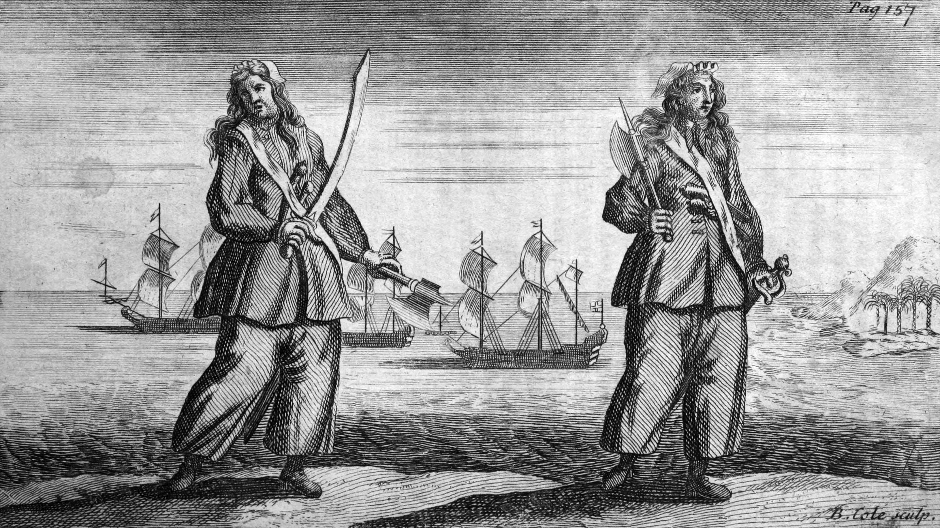 Ann Bonny and Mary Read