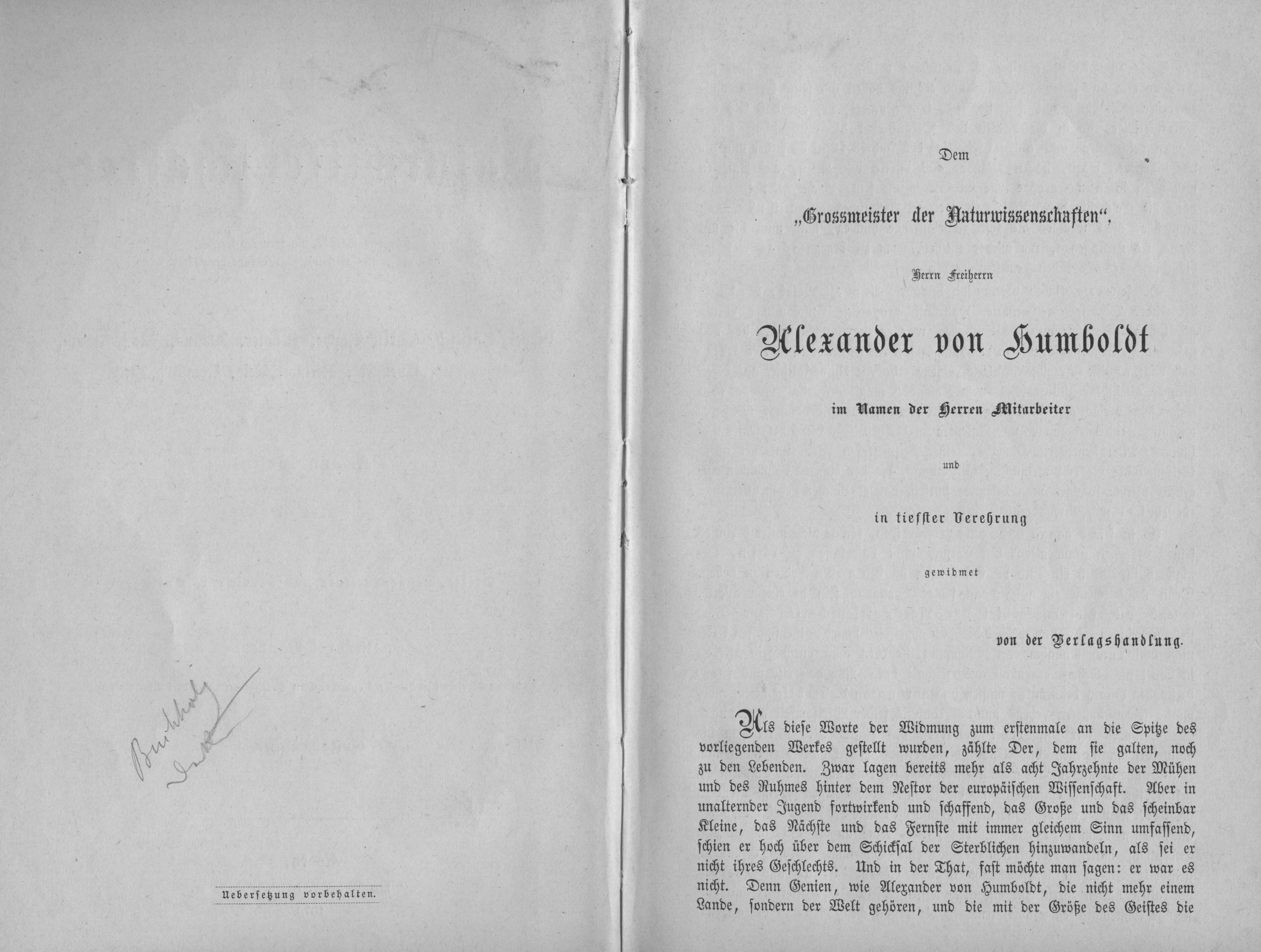 Alexander von Humboldt | VereinsWiki | FANDOM powered by Wikia