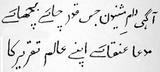 Ghalib poem in Nastaliq.jpg