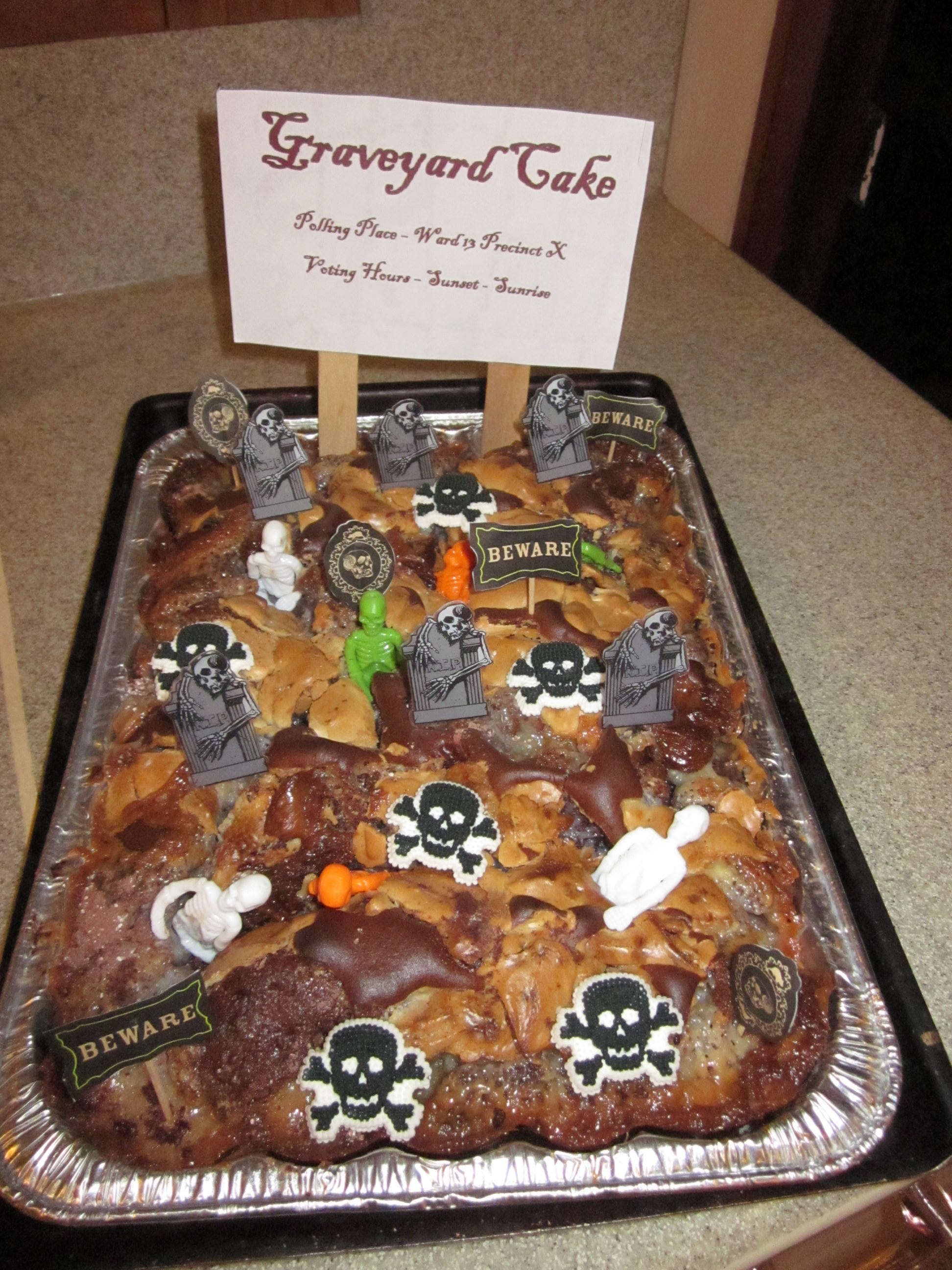 Coffin Cake Neopets