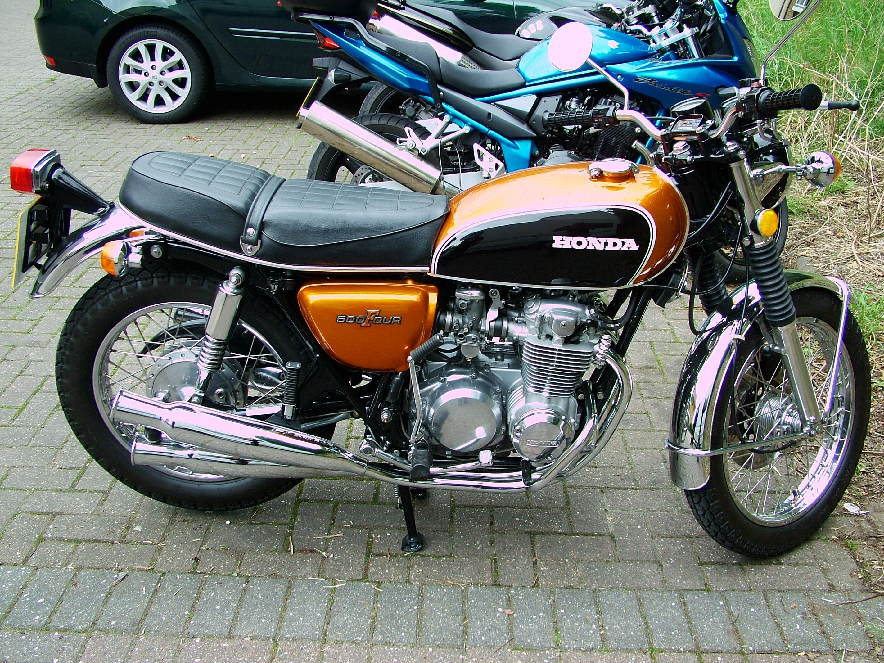 Honda Cb Four Cafe Racer Lille