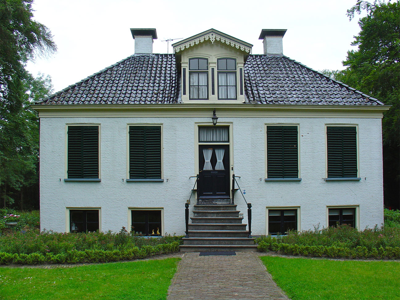 westerbeek in frederiksoord monument