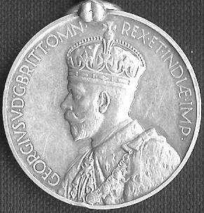 India General Service Medal 1909 obv
