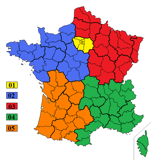 france metropolitaine