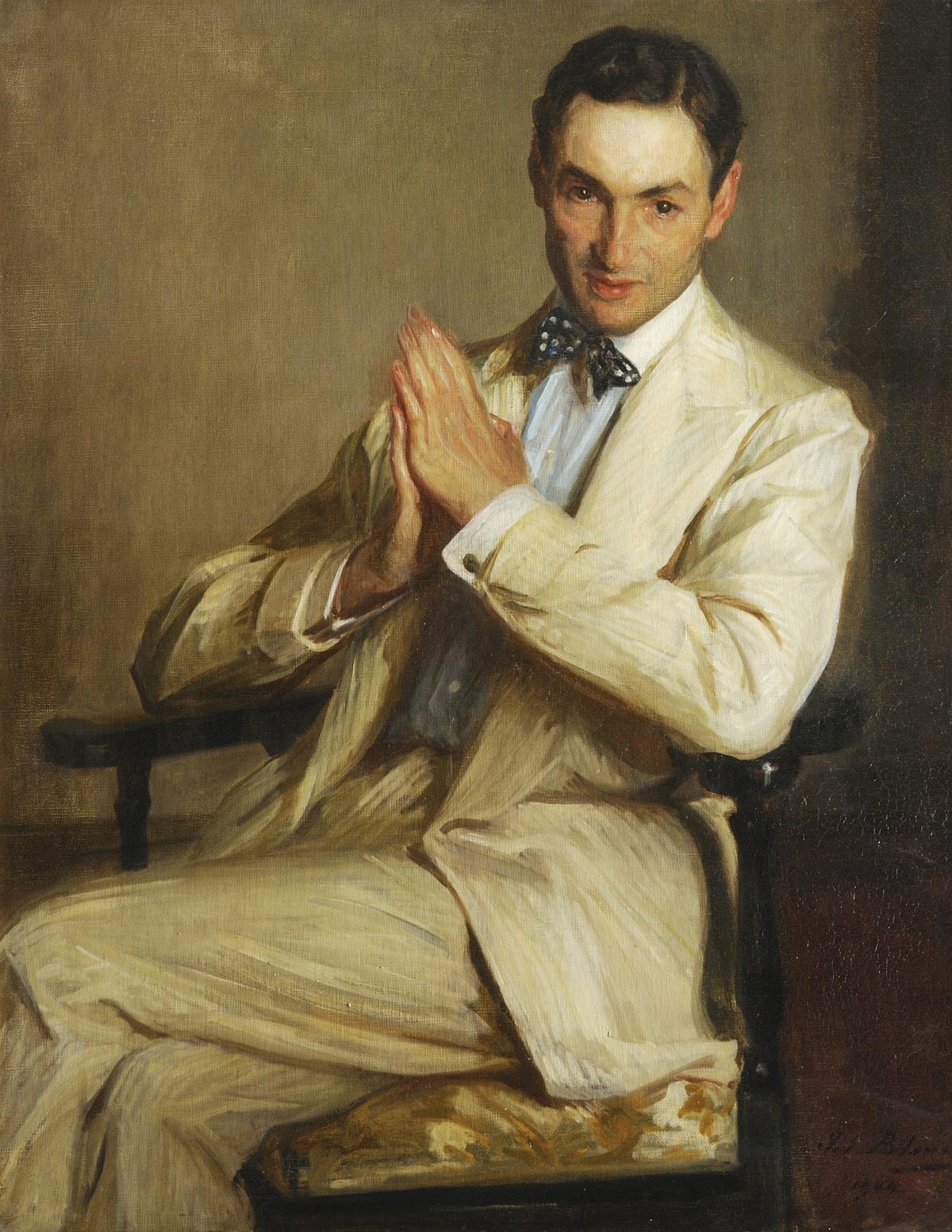 Жак-Эмиль бланш портрет Гарри Мелвилла 1904.JPG