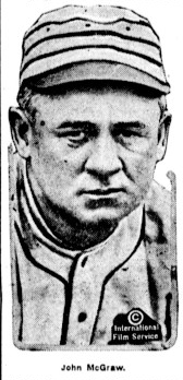 John McGraw in the Chicago Eagle, 1919[5]