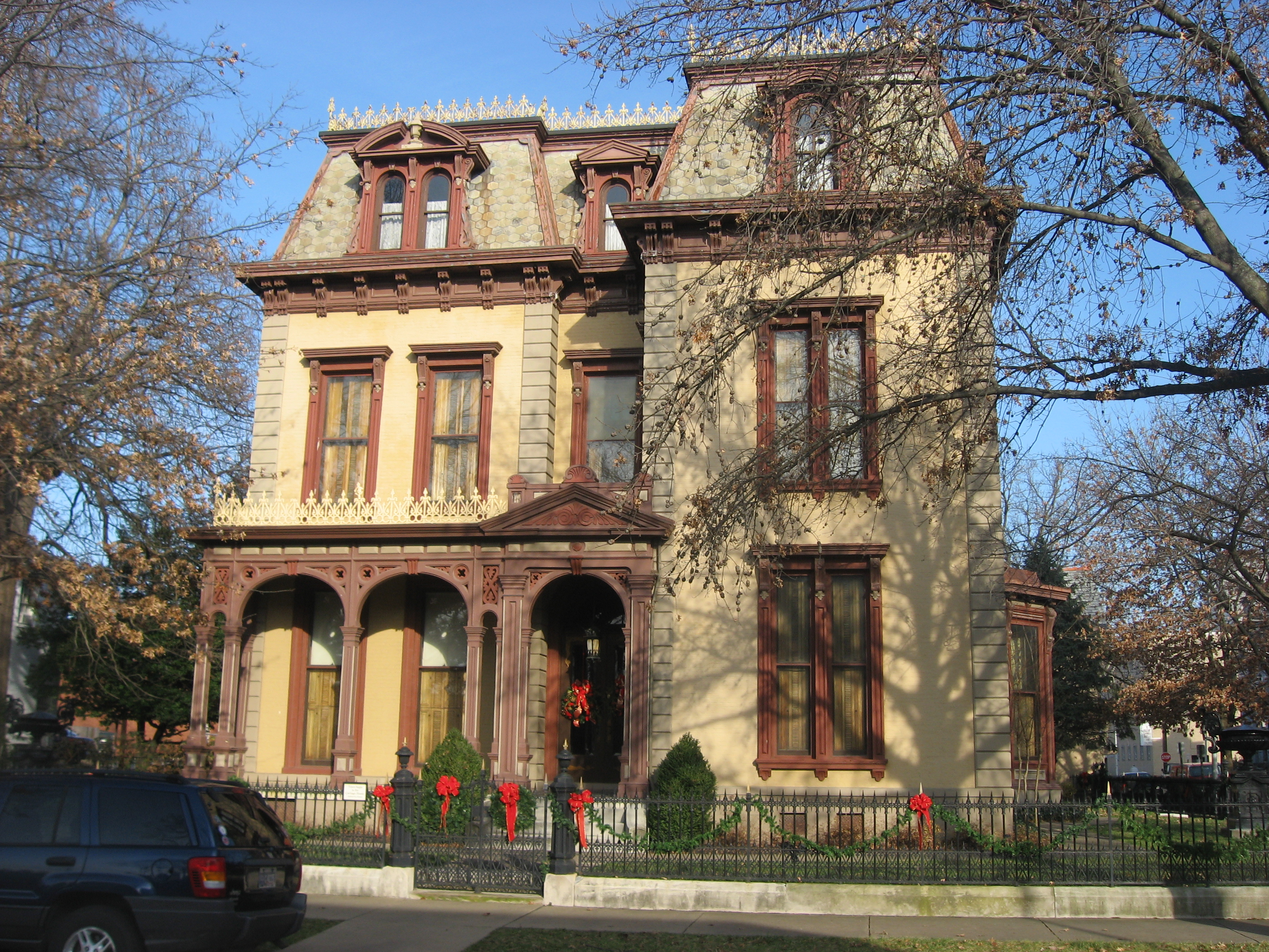 1000 images about indiana second empire houses on