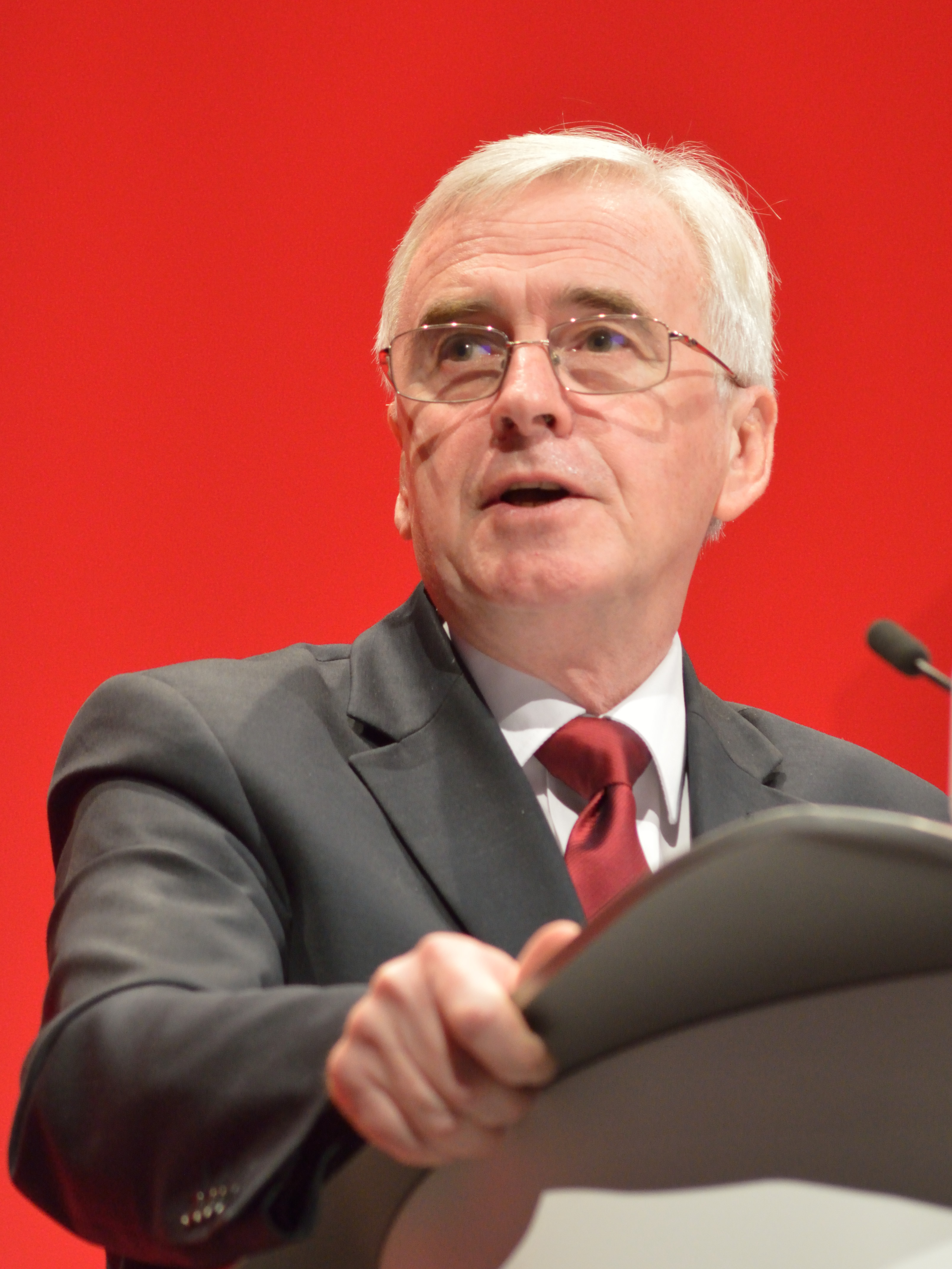 McDonnell at the 2016 Labour Party Conference