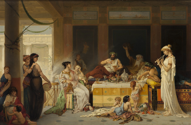 File:Joseph Coomans - Roman banquet.jpg - Wikimedia Commons