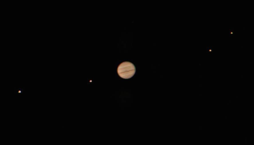 [Jupiter and moons]