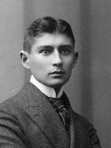 Depiction of Franz Kafka