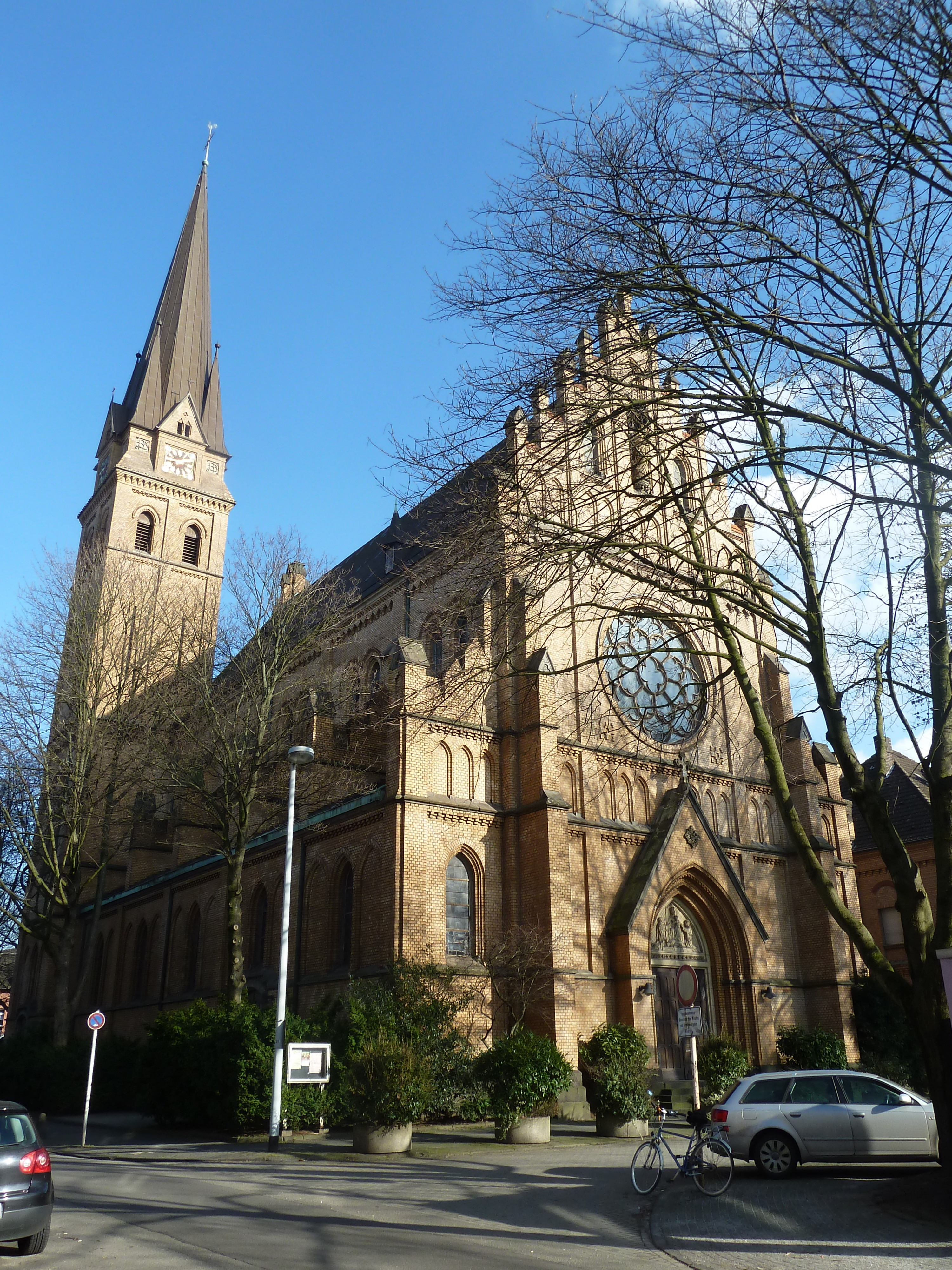 File:Kath. Kirche Mariae Rosenkranz in Mülheim an der Ruhr