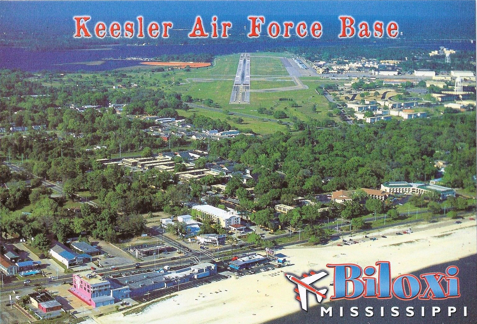 File:Keesler Air Force Base - 1980s Aireal.jpg - Wikimedia Commons