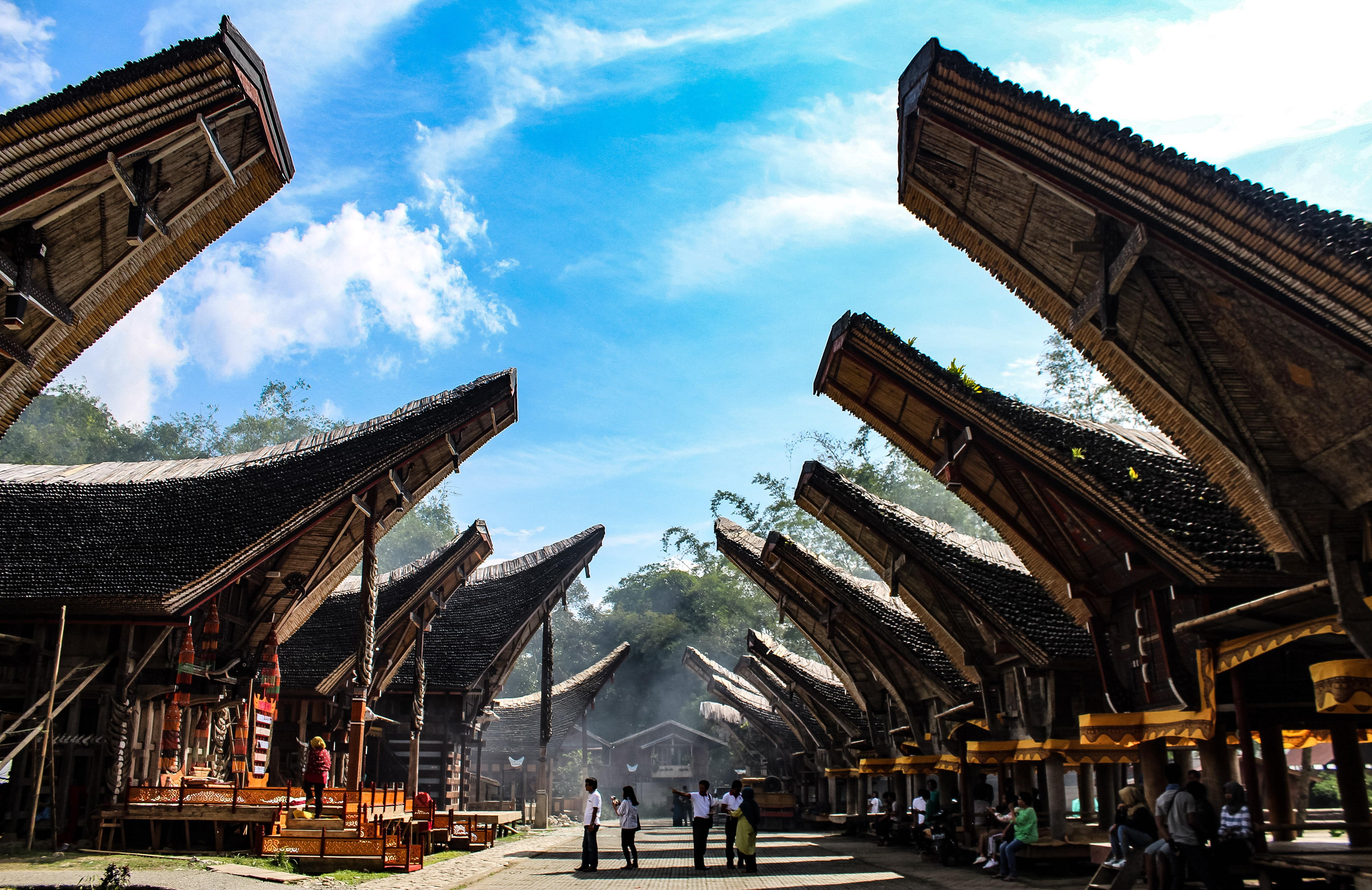 Tana Toraja, Sulawesi Selatan, Kete Kesu Toraja, Toraja Utara, Tongkonan, Rumah Adat Masyarakat Toraja,