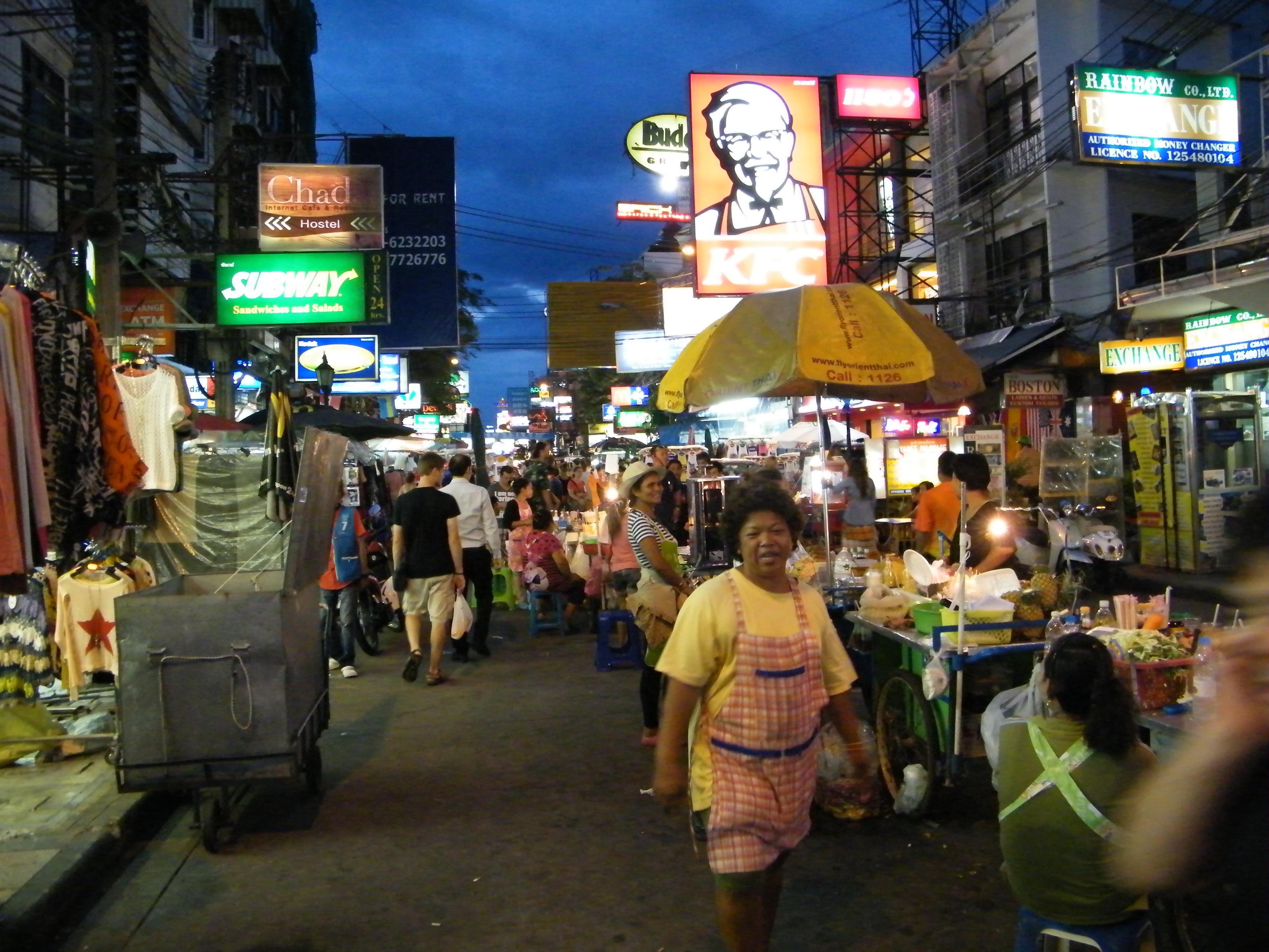 Khao San Road in Bangkok - Restaurant in Bangkok, Thailand ...