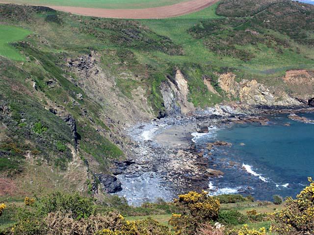 Kiberick Cove. - geograph.org.uk - 413432
