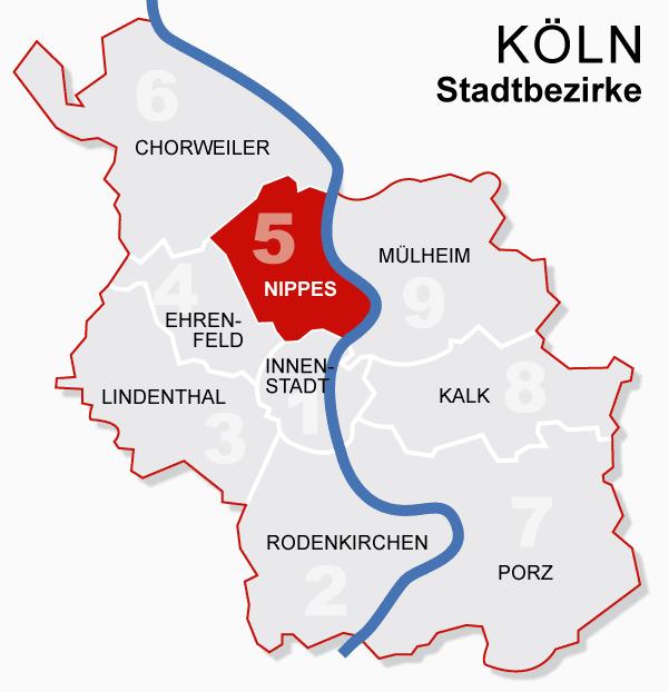 Köln/Nippes – Reiseführer auf Wikivoyage