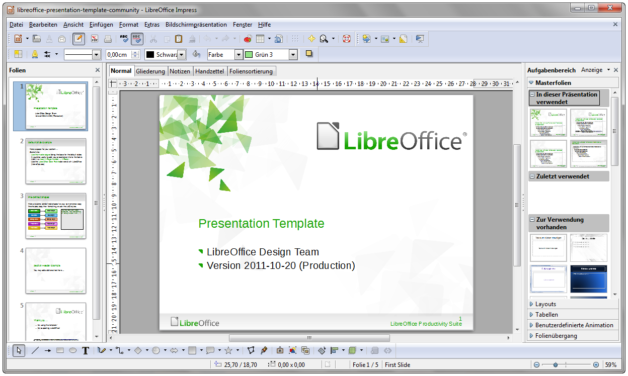 File libreoffice 3 5 impress withcontent german windows wikipedia - Openoffice or libre office ...