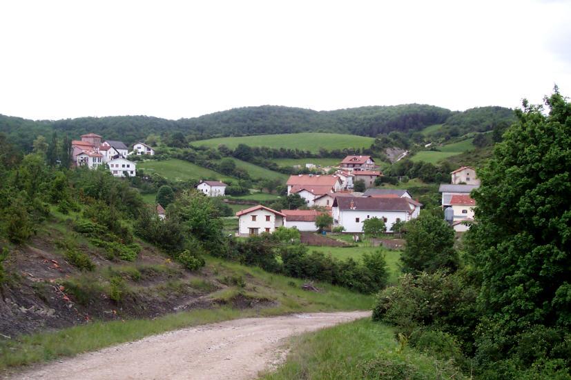 Vista de Linzoáin