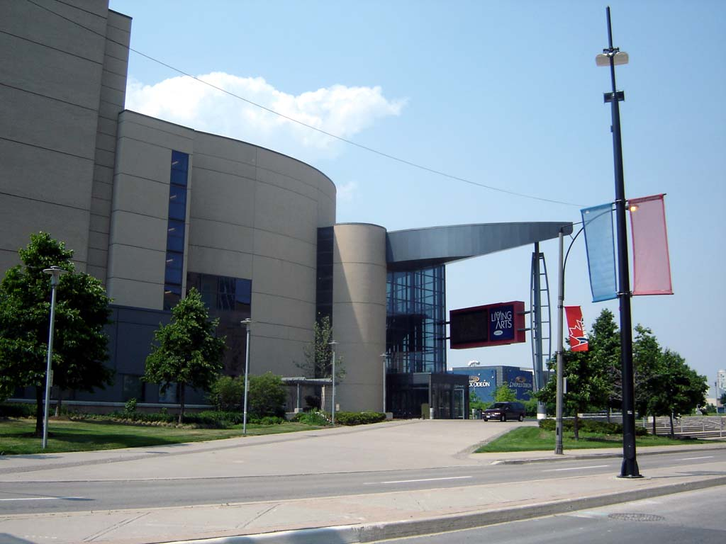 Living arts centre wikipedia for Architecture firms mississauga