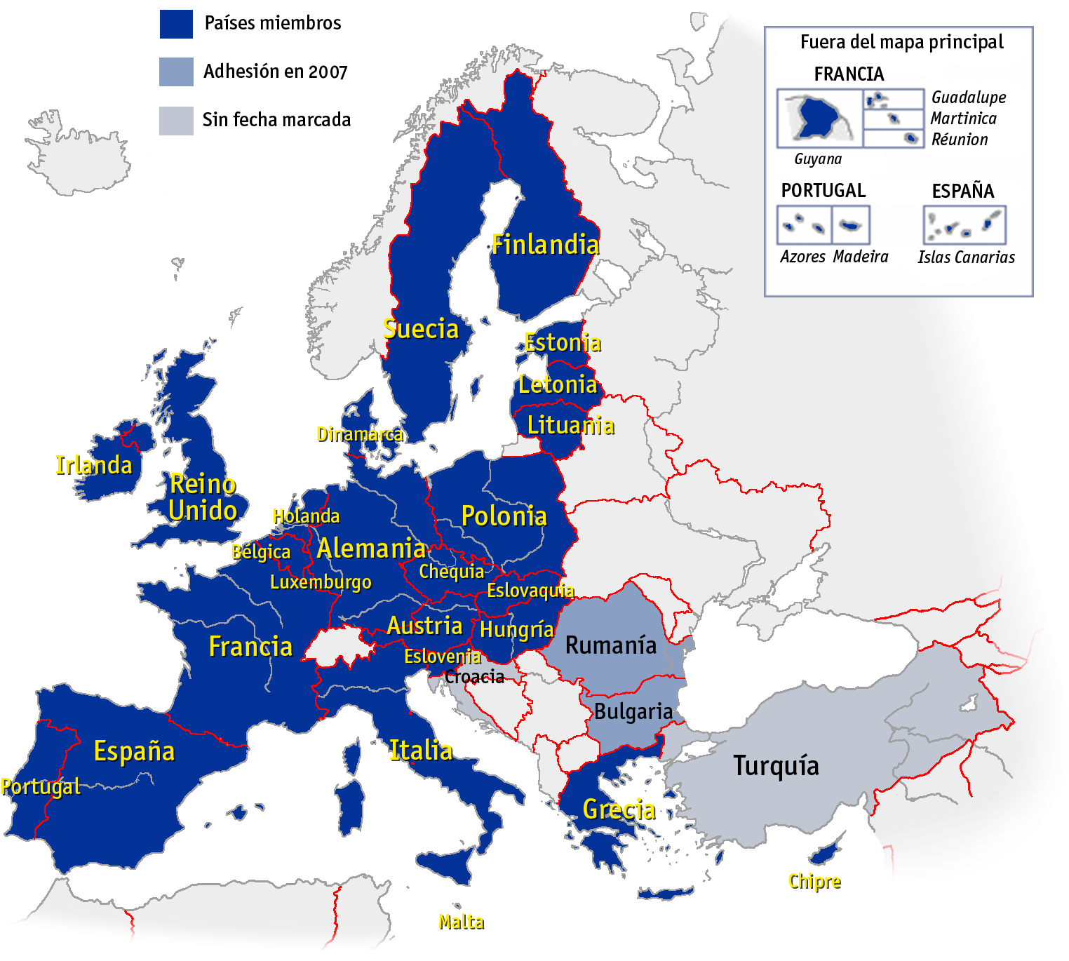 ue mapa Archivo:Mapa union europea.png   Wikipedia, la enciclopedia libre ue mapa