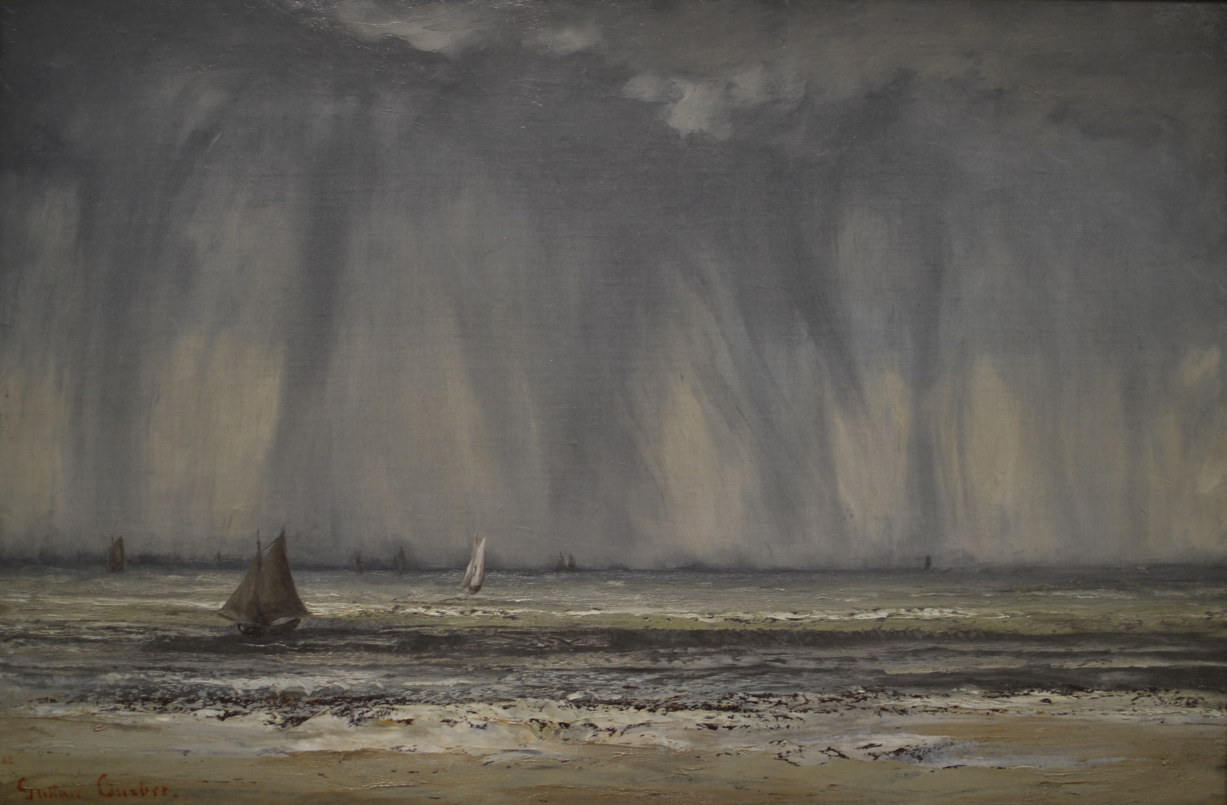 File Marine By Gustave Courbet Jpg Wikimedia Commons