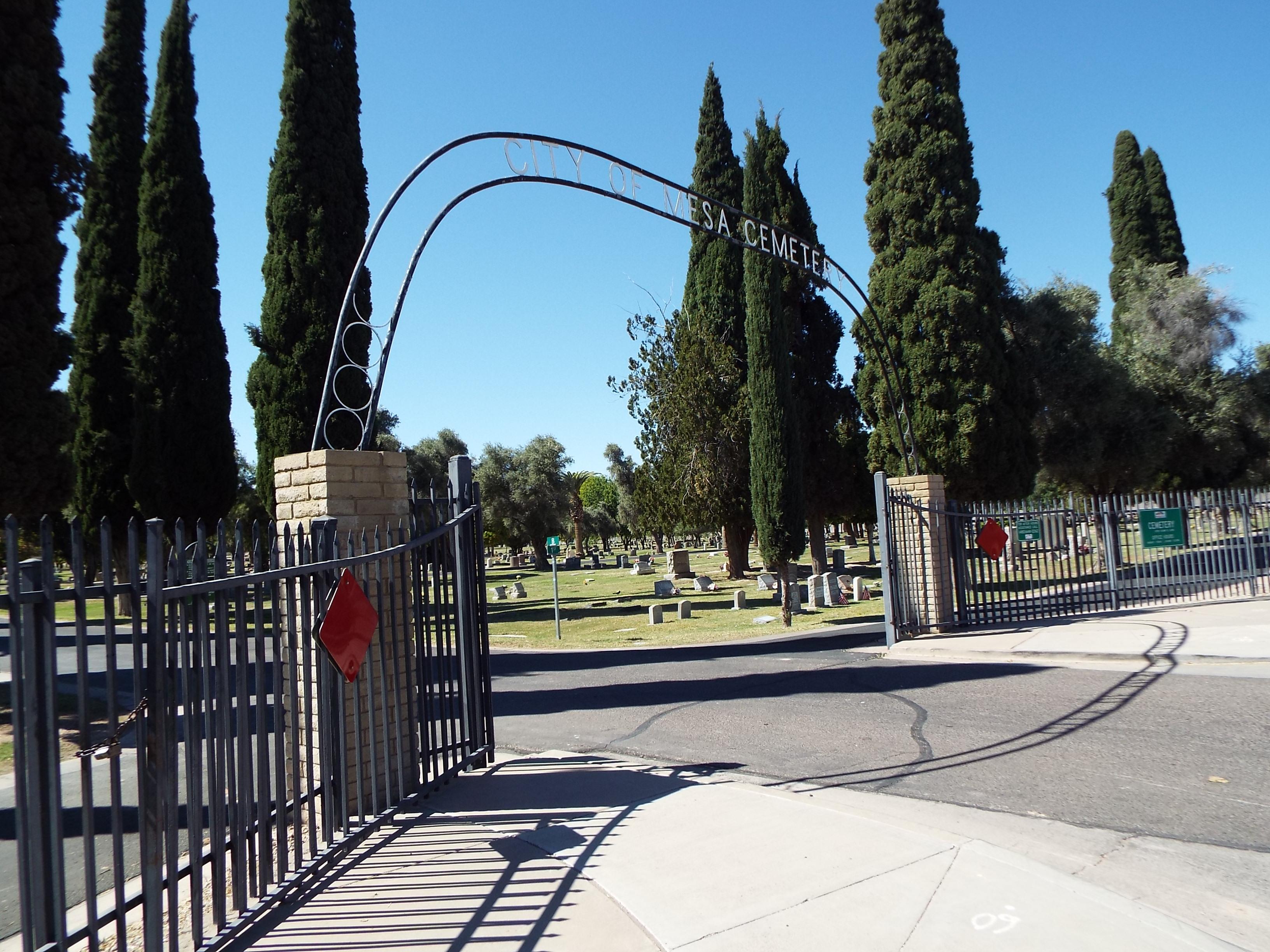 city of mesa cemetery wikipedia