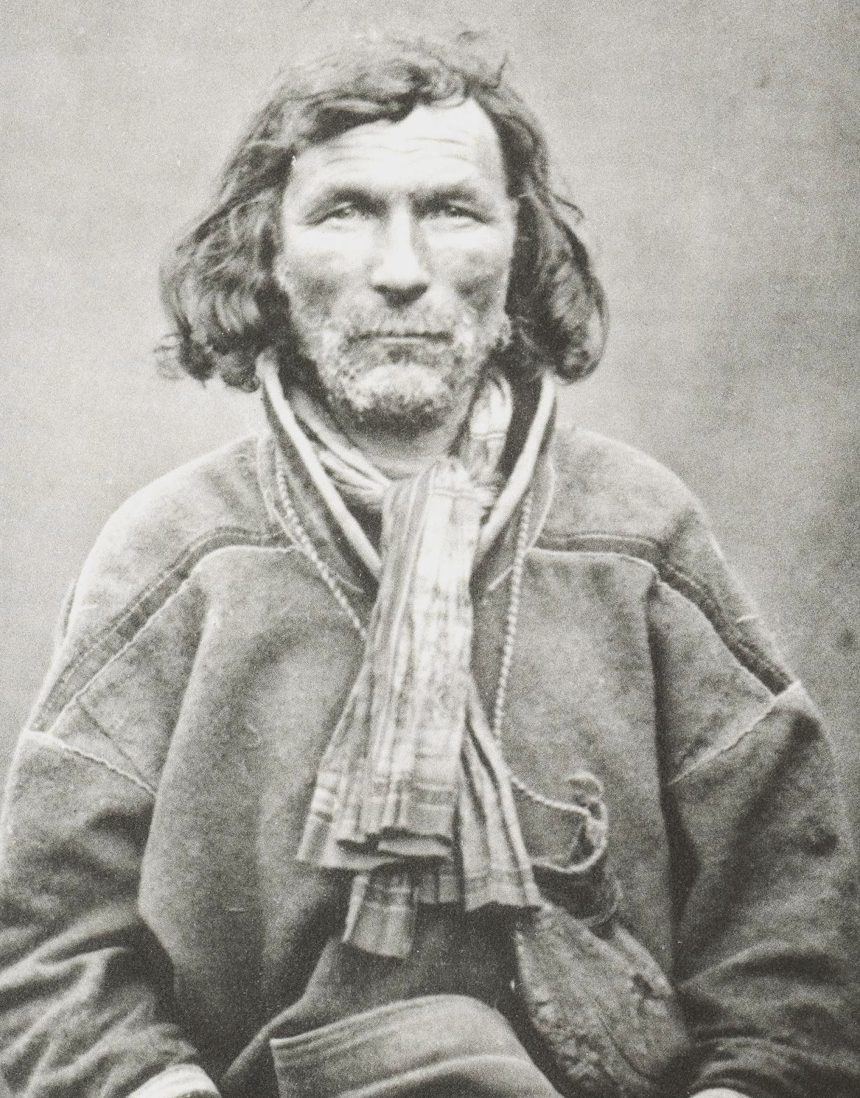 Kautokeino Norway  City new picture : Mikel Mikelsen Hetta Sami man, Kautokeino, Norway, by Bonaparte ...