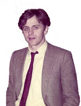 Mikhail Baryshnikov in New York, 1984.