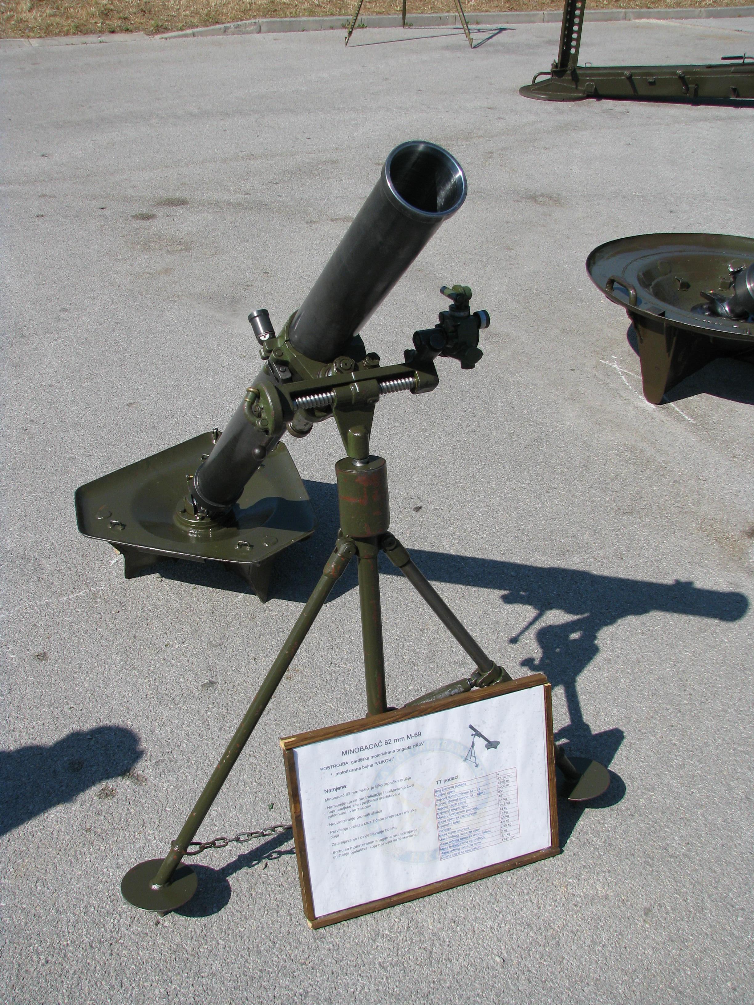Ukrajina pred eksplozijom - Page 3 Mortar_82mm_M-69_Croatian_Army