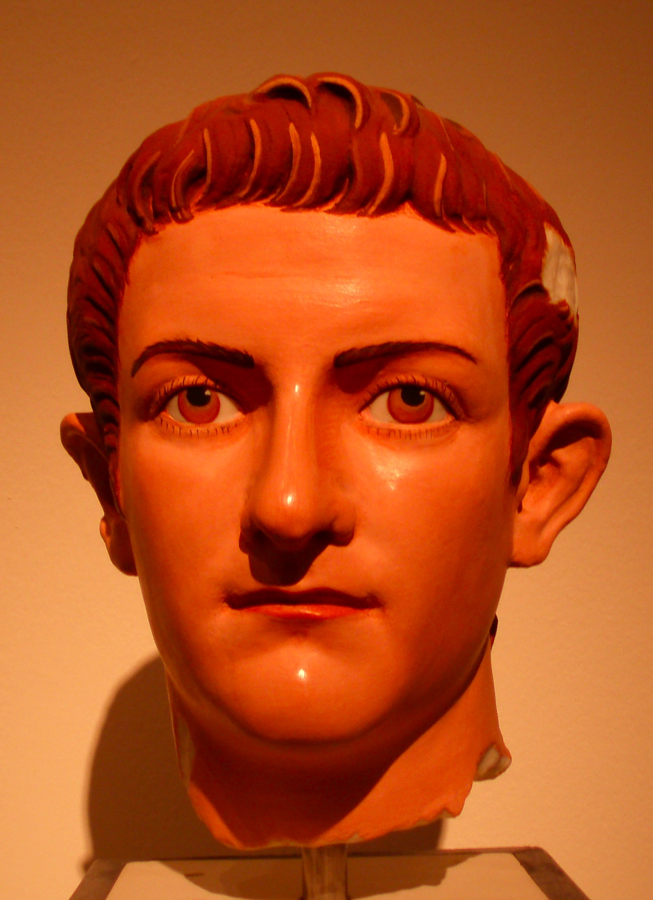Caligula on campaign in Germany
