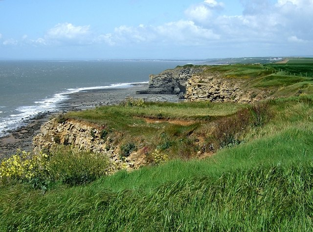Nash Point to Cwm Nash - geograph.org.uk - 1323212