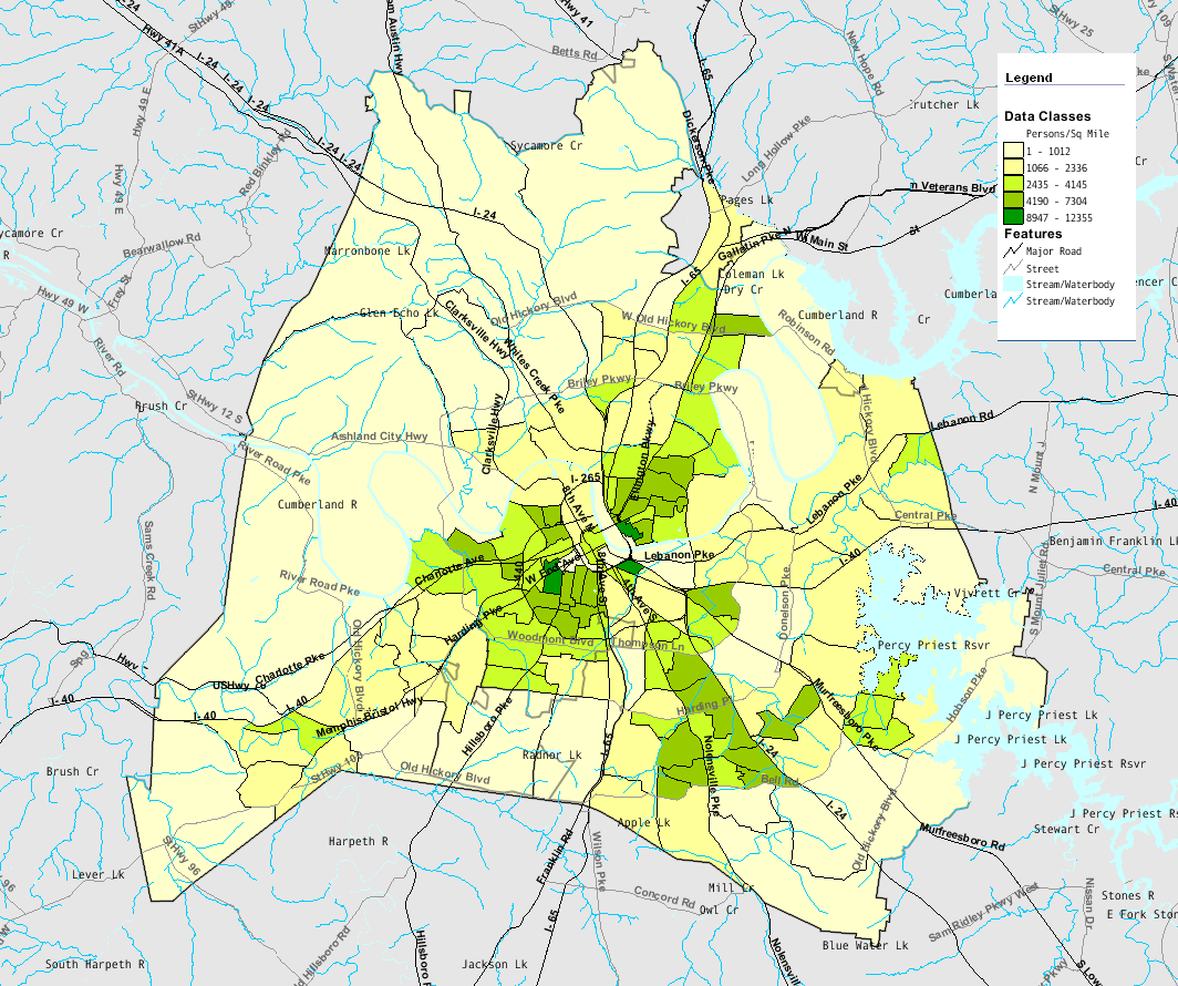 nashville population growth Access the most recent census population information for nashville-davidson, tennessee, including a population profile and history.