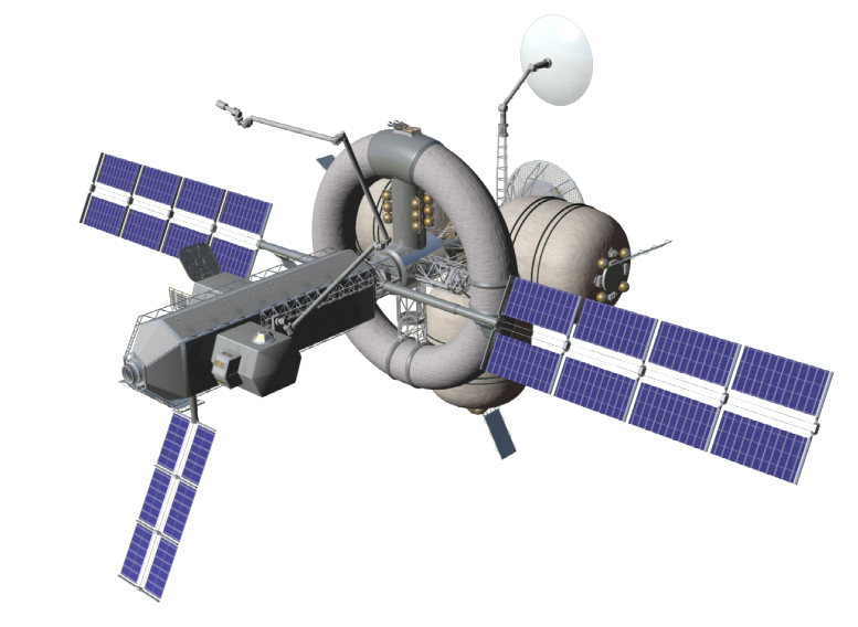 Nautilus-X. proposed multi-mission interplanetary spacecraft with centrifuge habitat