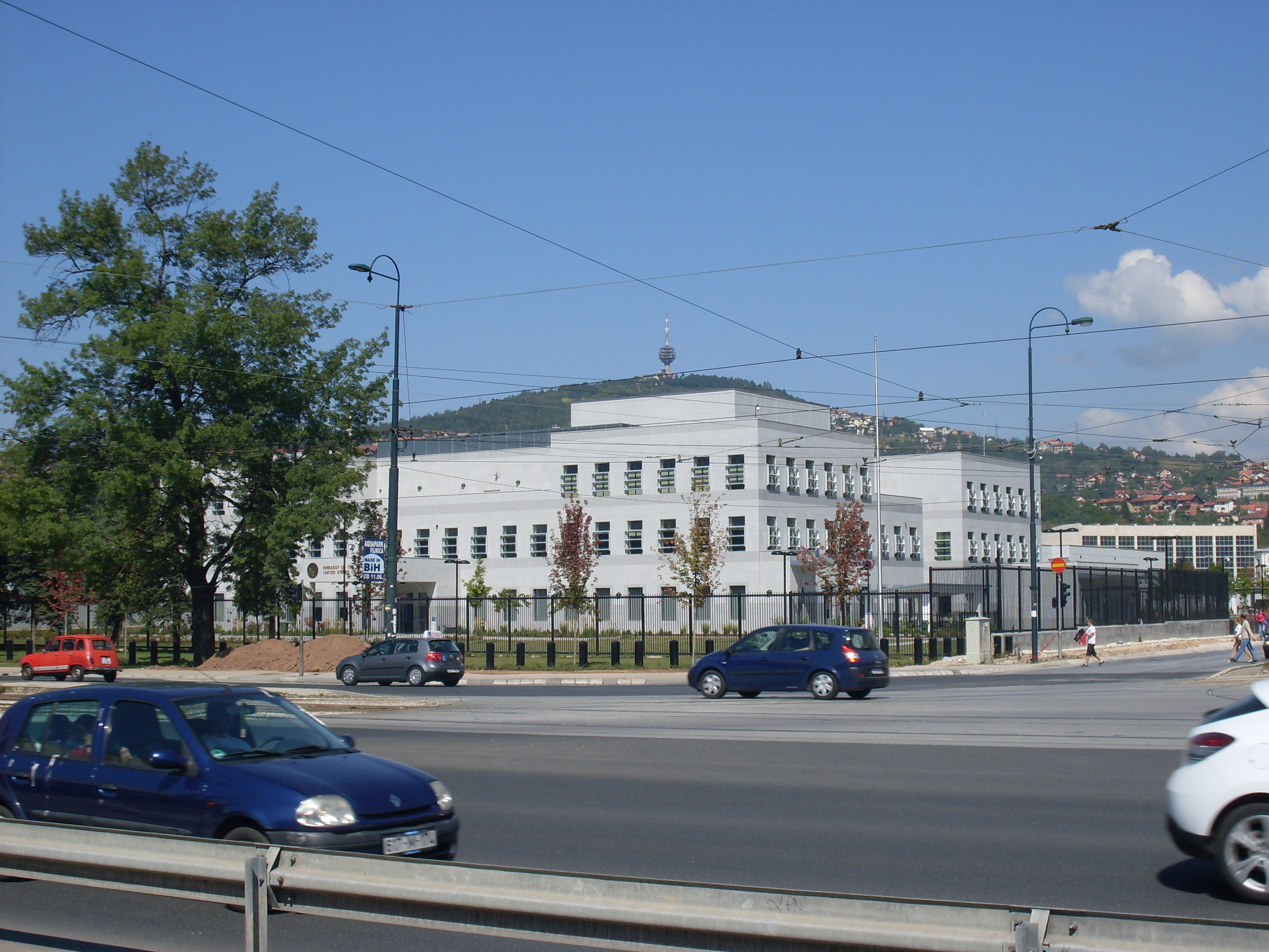 File:New USA Embassy in Sarajevo jpg - Wikimedia Commons