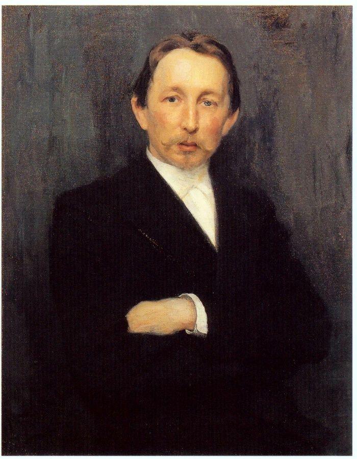 Портрет работы Николая Кузнецова