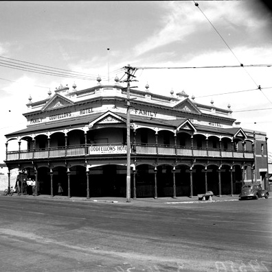 Oddfellows hotel fremantlen 3 april 1950