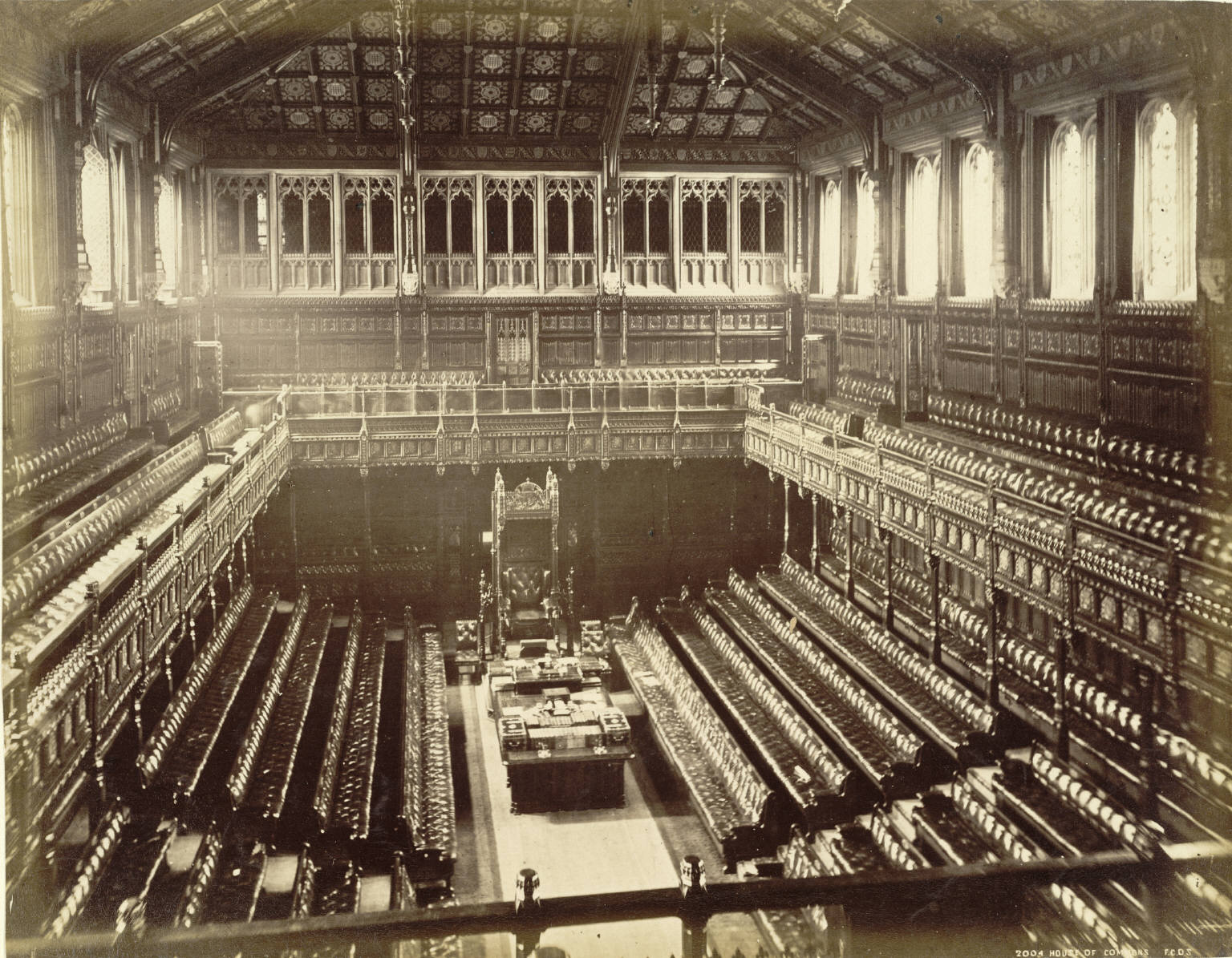 File old house of commons chamber f g o for Deputati parlamento