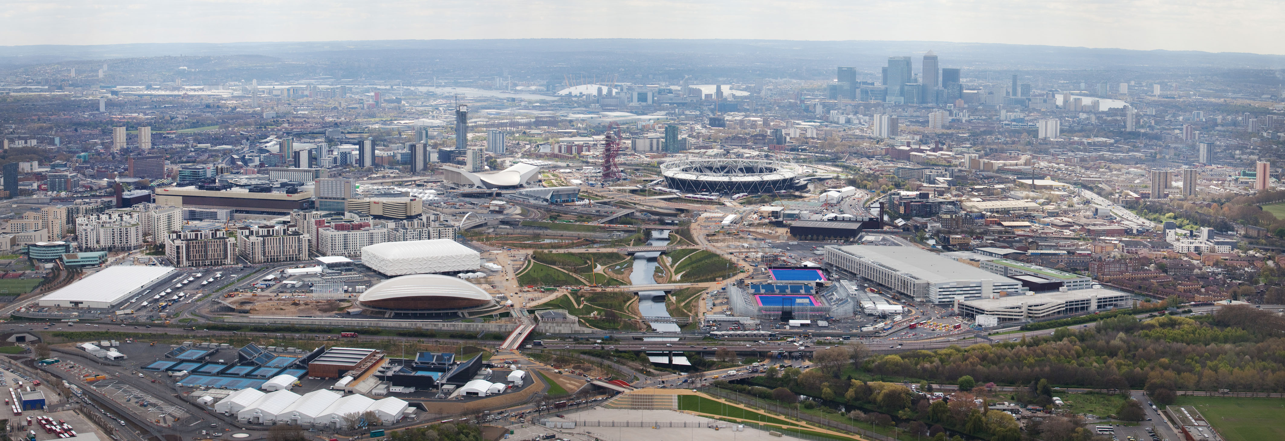 Olympic Stadium Aerial View Aerial View of The Olympic